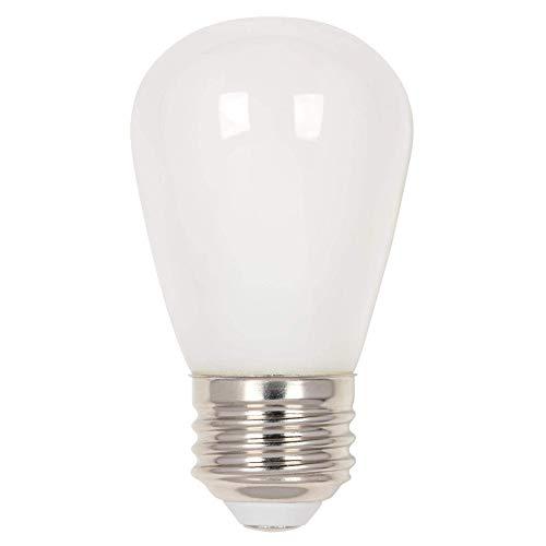 Westinghouse Lighting 5511520 1.2 (15-Watt Equivalent) S14 Frosted, E26 (Medium) Base (4 Pack) LED Light Bulbs