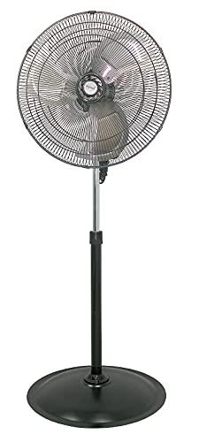 Ventilador de pedestal/pie 20' 50.8cm aspas metal Mytek 3317