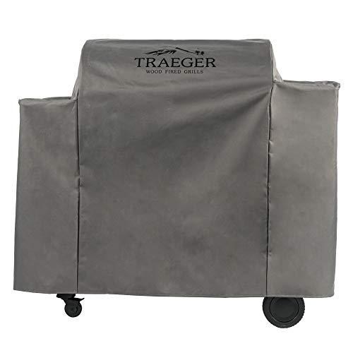 Traeger Pellet Grills BAC513 Ironwood 885 Grillabdeckung, volle Länge, Grau