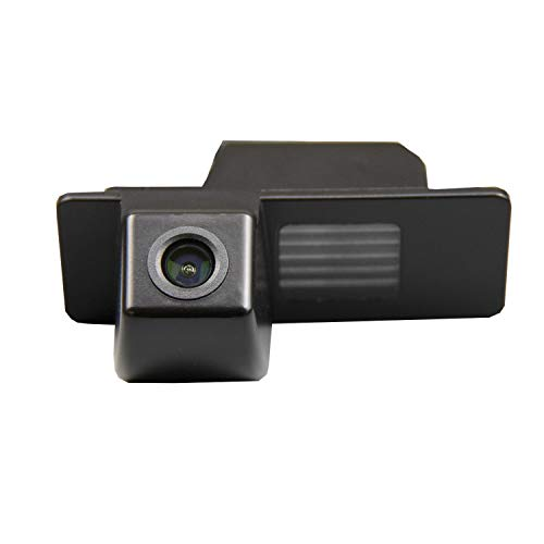 HD 720p Rückfahrkamera für Rückfahrkamera für universelle Monitore (RCA) (Farbe: Schwarz) für Opel Mokka Chevrolet Aveo 2012 2013 2014 Chevy Cruze Equinox Trailblazer