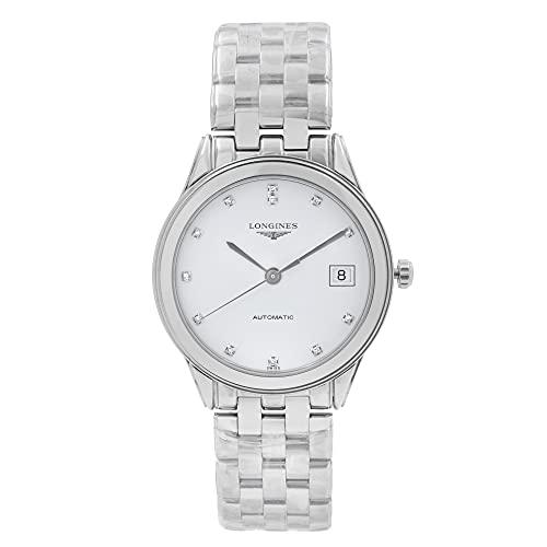 Longines Les Grandes Classiques Diamond Markers Flagship Automatic Transparent Case Back Men's Watch