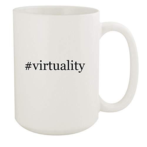 #virtuality - 15oz Hashtag White Ceramic Coffee Mug