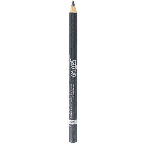 Saffron Metallic Eyeliner Pencil-Black