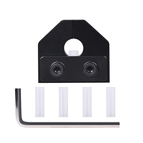 BIQU DIRECT 3D Impresora Piezas Filamento Soldador Conector Para Filamento 1.75MM Sensor de Filamento PLA Material de Filamento ABS Para Ender 3 PRO (Negro)