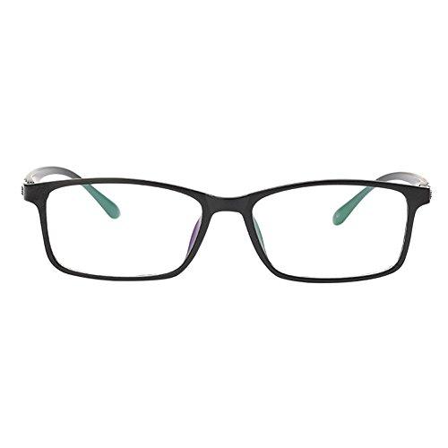 Dintang Ultra Licht Matt-Schwarz Rahmen Kurzsichtigkeit Brille, Frauen Männer Kurzsichtige Brillen Kurzsichtig Goggles Spectacles Eyewear -0.5 Stärke