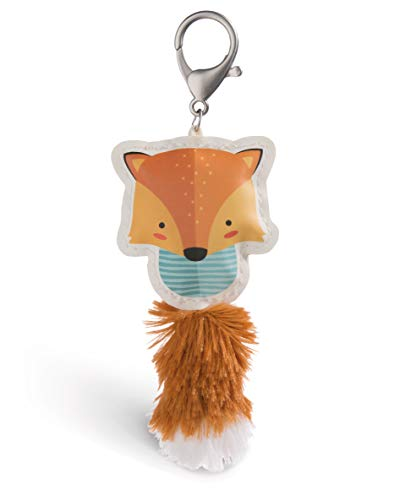 Nici 45583 Fox Brown 12 cm Bag Pendant Made of Faux Leather, Colourful