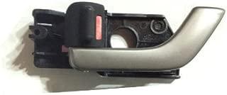Driver Hyundai Tiburon 03-08 OEM Genuine Inside Door Handle Catch Silver Left Set 2pc 826102c500lk 826202c500lk by Hyundai OEM Right Passenger