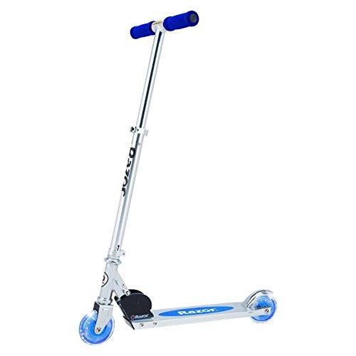 Razor A Lighted Wheel Kick Scooter  Blue
