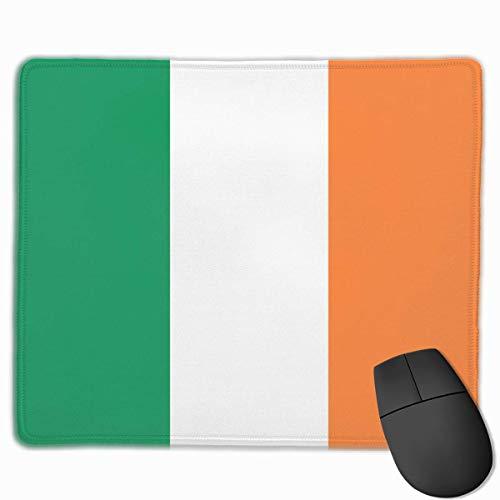 Ireland Flag Mouse Pad, rutschfeste Mausmatte für Desktops, Computer, PC und Laptops, kundenspezifisches Mauspad