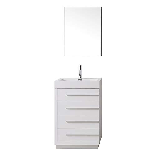 Check Price Virtu Usa Js 50524 Gw 24 Inch Bailey Single Sink