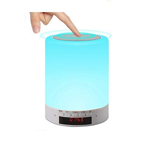 Salandens Lámpara LED de noche, regulable (tres intensidades) y RGB colores intercambiables. (7 Colores) Luces de noche (Colors+1)