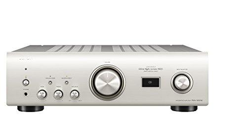 DENON PMA-1600NE Amplificatore con DAC Incorporato, 70+70 W RMS su 8 Ohm, 140+140 W su 4 Ohm, Argento