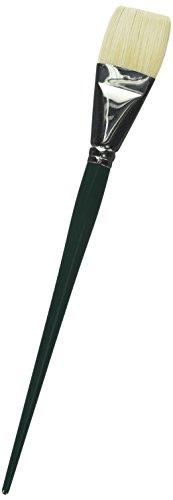 Winsor and Newton Winton Hog Brush Long Handled Short Flat/Bright No 18 (Each) (38mm)