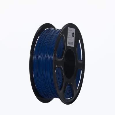ABS Filament 3D Printer Filament 1.75mm 1kg Printing Materials 3D Plastic Printing Filament toughness (Color : Yellow) JIAJIAFUDR (Color : Dark Blue)