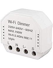 Yantan Wifi dimmer module 220 V-240 V 150 Watt controller tijd schakelaar klok licht spraakbesturing werkt voor Tuya Amazon Alexa Home Ifttt