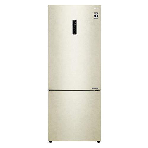 frigorifero 500 litri LG Frigorifero Combinato GBB567SECZN Total No Frost Classe A++ Capacità Lorda/Netta 500/451 Litri Colore Beige