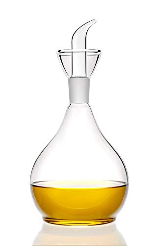 HAIZEEN【900ml】DISPENSADOR de aceite de oliva y vinagre con boquilla sin goteo - botellas dispensadoras de envases de aceite para cocina y BBQ y dispensador de jabón para ducha.