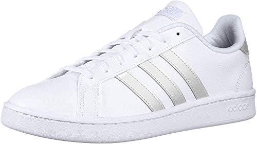 adidas Grand Court Damen-Sneaker, Weiá (FTWR Weiß/Grau.), 40 EU
