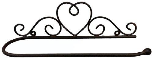 - Wandhalter Küchenrollenhalter *Handtuchhalter* Garderobe Metall Landhaus, ca. B 38 cm