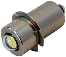 HQRP High Power 3w LED Bulb for Magnum Star II LMXA601 Xenon Lamp 6 Cell C & D Mag-Lite Flashlights Replacement Bulb + HQR...