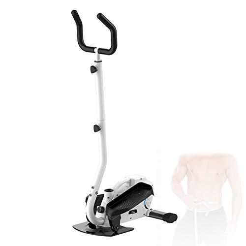 SCXLF Inicio Bicicleta Elíptica Bicicleta Giratoria, Escaladora, Quemagrasas, con Conecto con Resistencia Ajustable Y Monitor LCD para Ejercicio En El Hogar