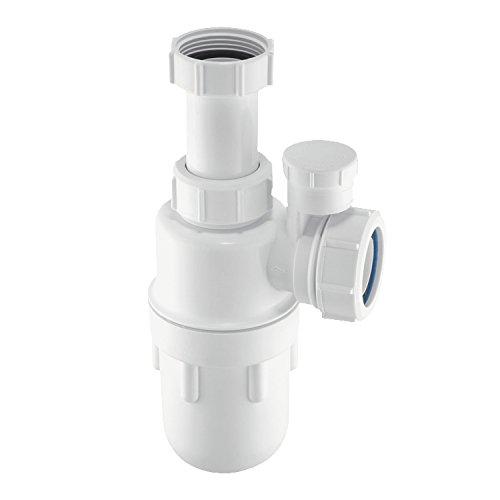 McAlpine a10av 1Verstellbare Einlass Flaschensiphon, weiß