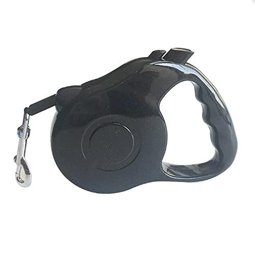 Cinturón de rastreo de Perros escalable con un Mango Antideslizante, Freno de un Solo botón, Sistema de Seguridad de Bloqueo, Adecuado para Mascotas para Perros pequeños a Grandes-X_3m