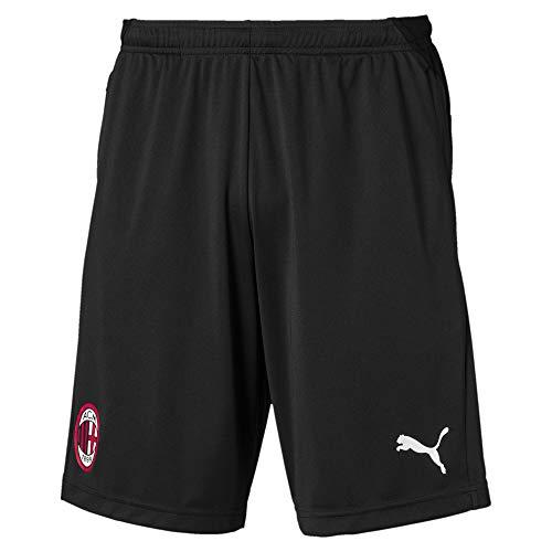 PUMA Herren ACM Training Shorts with Zipped Pockets Trainingsshorts, Black, M