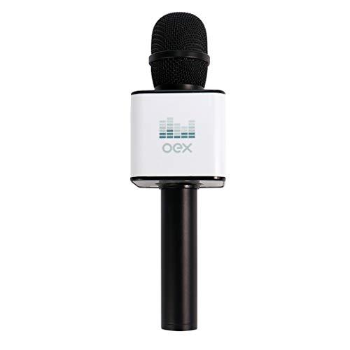 Microfone Karaoke Voice, OEX, Microfones e fones de ouvido, Preto