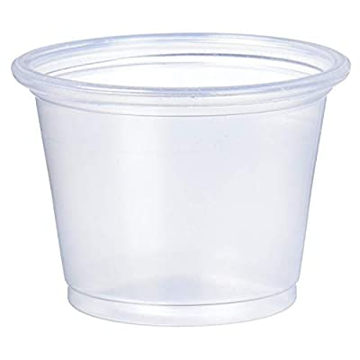 Dart Clear PP Portion Container (Case of 2500)