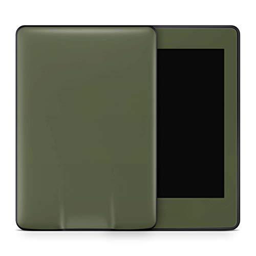 Skins4u Amazon Kindle Voyage Skin Aufkleber Design Schutzfolie Solid State Olive