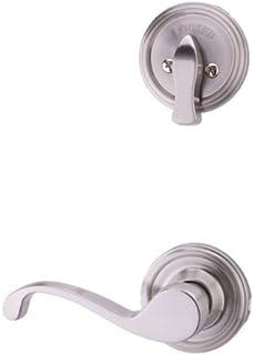 Satin Nickel Weslock 06402--JNSL2D Stanford Interior Entry Handle