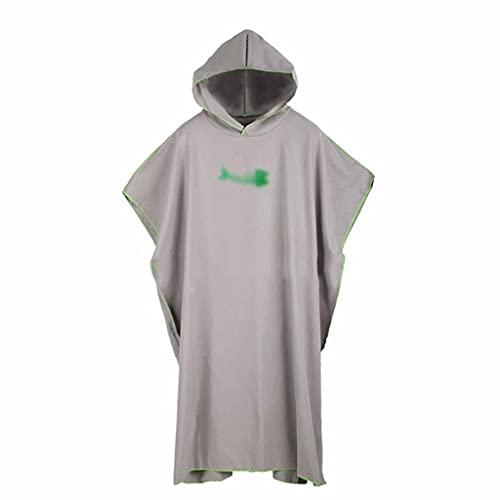 ZNBJJWCP - Asciugamano in microfibra per immersioni, con cappuccio, ad asciugatura rapida, assorbente e assorbente