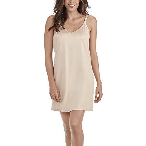 Vanity Fair Women's Full Slips for Under Dresses, SpinSlip-18-Neutral, Medium