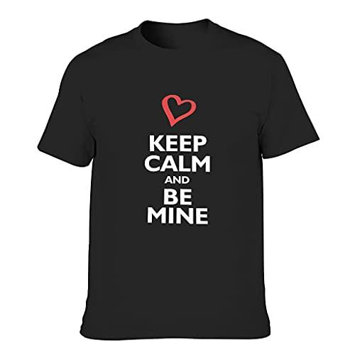 Camiseta Keep-Calm-be-Mine - Camiseta adaptativa para hombre o mujer