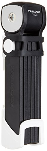 Trelock Faltschloss Trigo FS 300/85 mit Kunststoffhalter, weiß, 85 x 10 x 10 cm