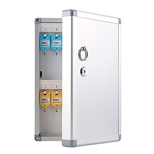 Gabinetes para llaves 120 llaves, caja de seguridad para llaves montada en la pared, caja de seguridad para llaves de seguridad resistente a la intemperie, caja de seguridad para almacenamiento de lla