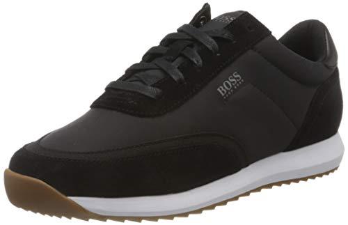 BOSS Herren Sonic_Runn_sdny Sneaker, Black1, 43 M EU, 9 UK