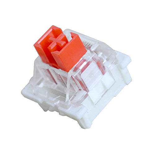 Outemu Tastatur-Schalter, 3-poliger Tastenschalter für RGB mechanische Gaming-Tastatur (20 Stück), Rot