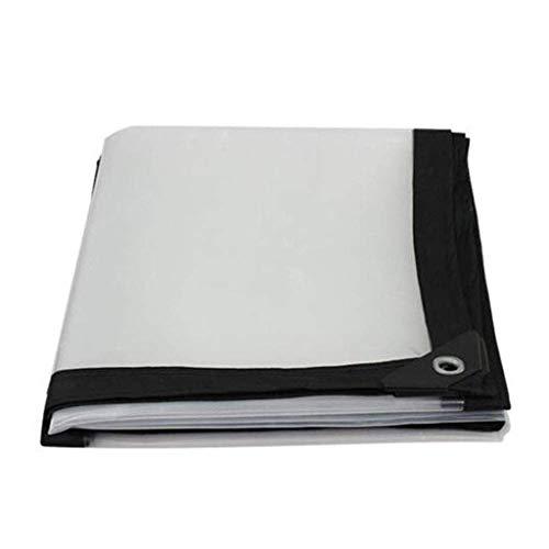 Sgfccyl Afdekzeil, transparant, voor airconditioning, scheidingswand, kunststof doek, poncho, poncho, regenstof, isolatiestof