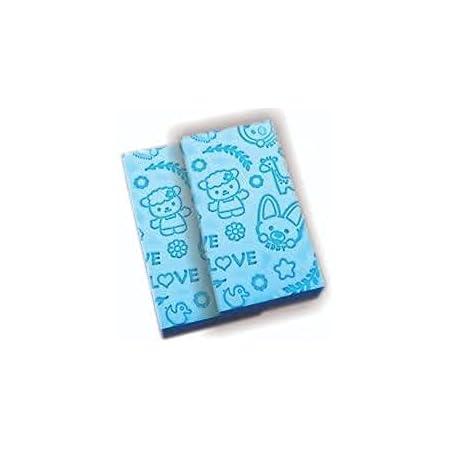 JIHB Bath Sponge, Skin Exfoliator, Face Scrubber and Dead Skin Remover for Women and Men (Multicolor) Pack Of 2