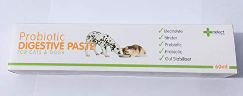 Select Probiotic Digestive Paste for Cats and Dogs 60ml