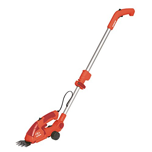 Sun Joe HJ605CC-RED 2-in-1 Electric Telescoping Grass Trimmer, Red