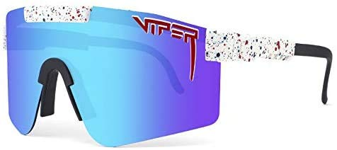 Pit Vipers UV400 - Gafas de sol polarizadas para conducir, correr, pesca, senderismo, golf, al aire libre, para hombres y mujeres (G10)
