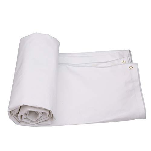 HQCC Protection anti-pluie de bâche de protection de Sun de bâche de camion de tissu de résistance à la déchirure imperméable de toile 500G / M² (Capacité : 8m×6m)