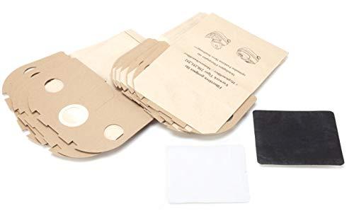 DREHFLEX - SB826-1 - 10 Staubsaugerbeutel aus Papier passend für Vorwerk - Tiger 250 251 252