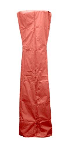 Hiland HVD-TGTCV-P Abdeckung für dreieckige Glasrohrheizung, 238,8 cm, Paprika