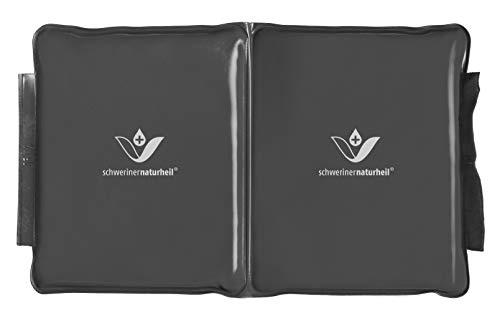 schwerinernaturheil Edel Deluxe - Cojín térmico con relleno de musgo natural, tamaño 2, para almacenamiento de calor, cojín de calor