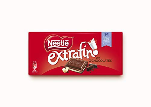 Nestlé Chocolate Extrafino 3 Chocolates - 25 x 120g
