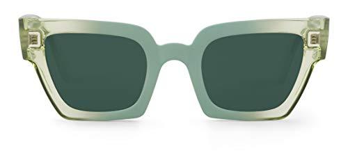 Mr Boho FRELARD Montures de Lunettes, Vert (Celadon/Classic Lenses), 45 Mixte Adulte